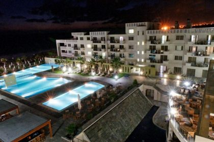 Capital Coast Resort night view